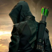 Arrow Season 8 Poster Art: Heroes Fall. Legends Rise.