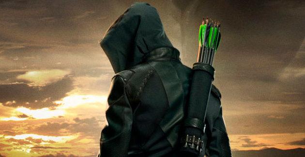 Arrow Season 8 Poster Art: Heroes Fall. Legends Rise.