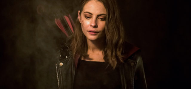 "Arrow ""Leap of Faith"" Photos: Willa Holland Returns"
